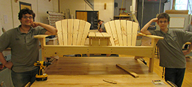 Norwich Technical High School Carpentry Program